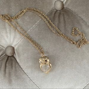 Anthropologie Owl Necklace